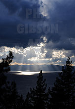 Lake Tahoe Sunset Photography Print