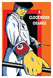 Viddy Well Clockwork Orange Art Print