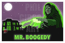 Mr. Boogedy Art Print Poster