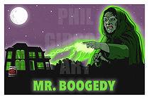 Mr. Boogedy Art Print Poster