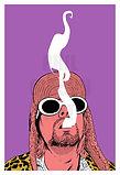 Kurt Cobain Nirvana Art Print Poster