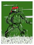Raphael TMNT Ninja Turtles Art Print