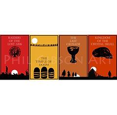 Indiana Jones Print Set