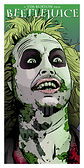 BEETLEJUICE TIM BURTON MICHAEL KEATON ART PRINT MOVIE POSTER
