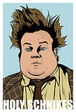 TOmmy Boy Chirs Farley Holy Schnikes Art Print