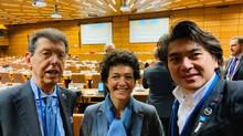 月面ビレッジ学会理事長と国連宇宙空間平和利用委員会科学技術部会議長と
