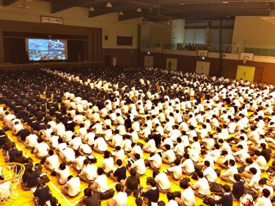 浦和学院高校講演会