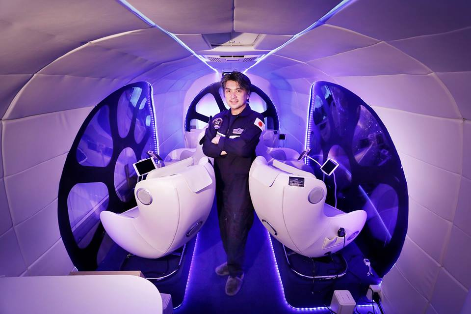 宇宙船訓練シミュレーター