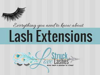 Everything you need to know about lash extensions.