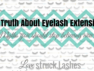Truth about lash extensions