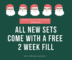 all New sets come with a free 2 week fil
