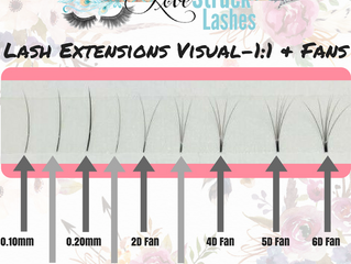 Whats Volume lashes? Whats 2D-6D?
