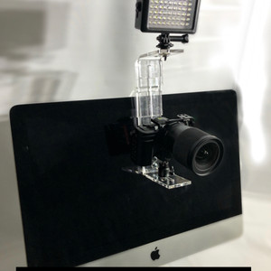 PlexiCam MAX with LED Light and Sony Alpha
