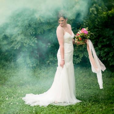 bridal session_bouquet_ritchie hill wedding venue