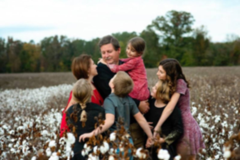 Outdoor Lifestyle Family photography session in cotton field, Mt. Gilead NC