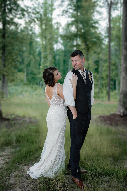An Intimate Wedding at Cadillac Ranch | Burlington NC | Jennifer Ann Photography