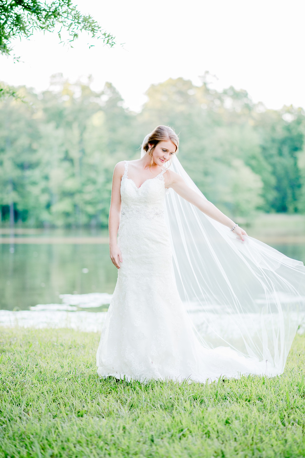 Bridal Session | Town of Misenheimer, NC | Pfeiffer University