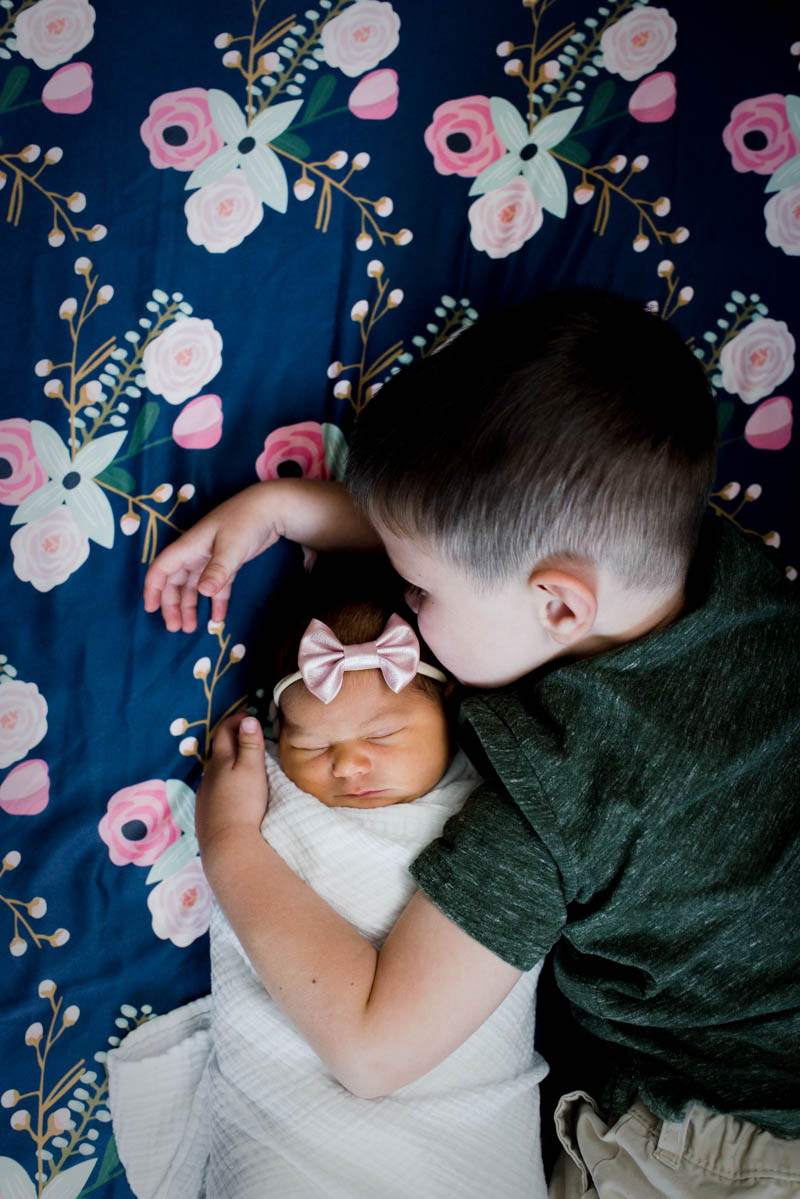 In-Home Lifestyle Newborn Session | Albemarle NC | Jennifer Ann Photography