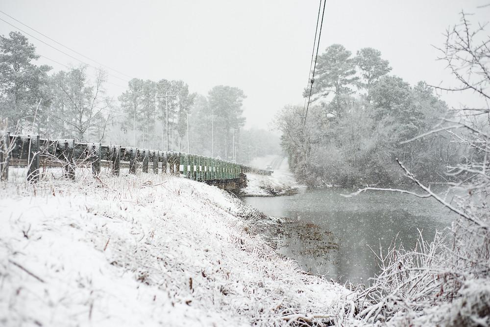 Norwood NC Steel Bridge | Norwood NC | Landscape Photography | Jennifer Ann Photography