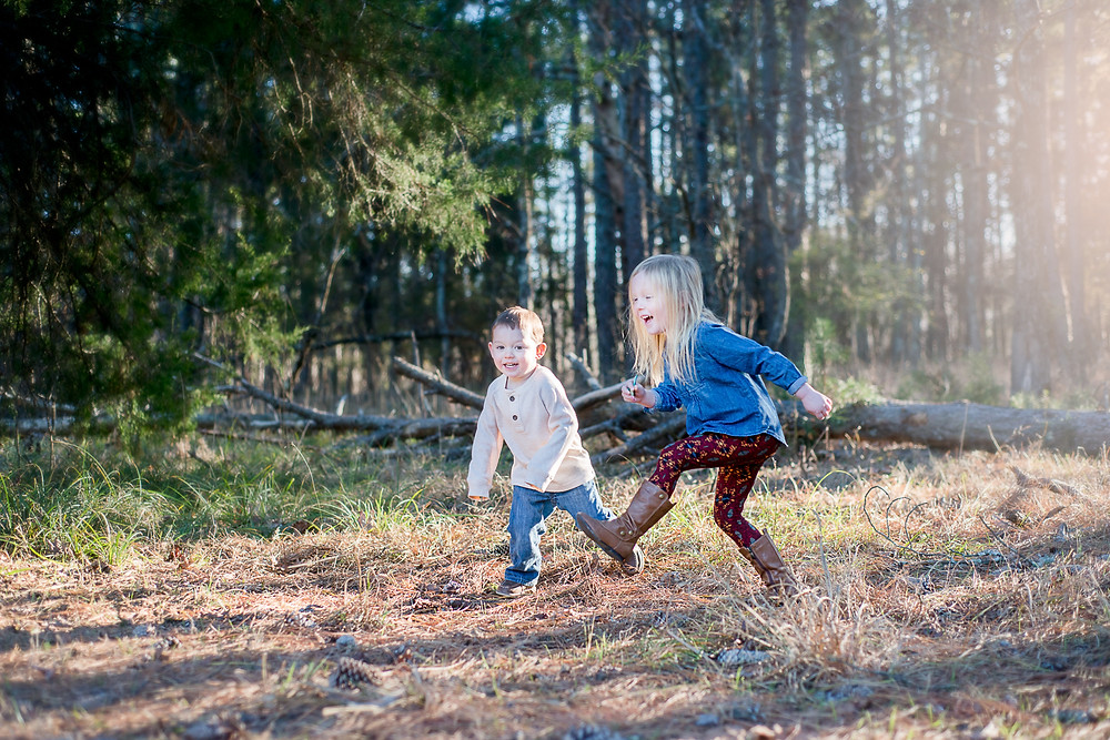Lifestyle Family Photography Session | Morrow Mountain State Park | Albemarle NC | Jennifer Ann Photography