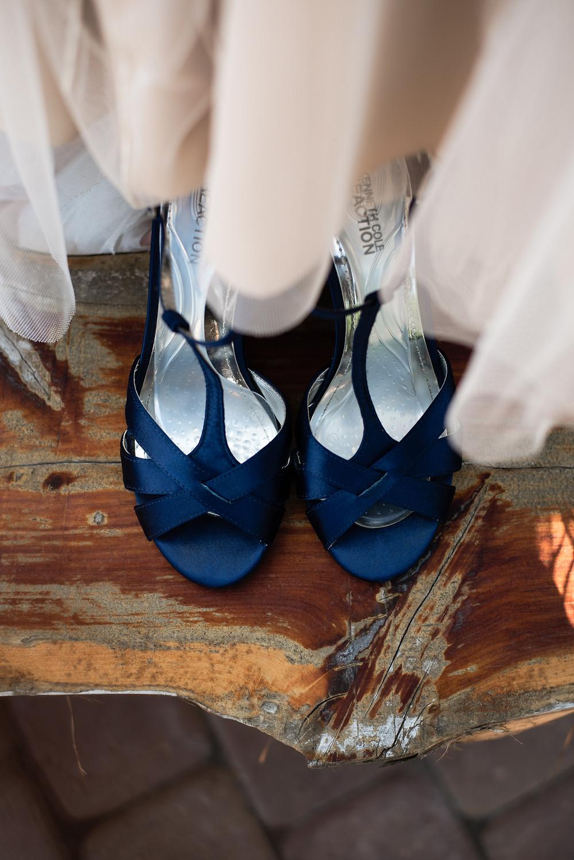 An Intimate Wedding at Cadillac Ranch | Burlington, NC