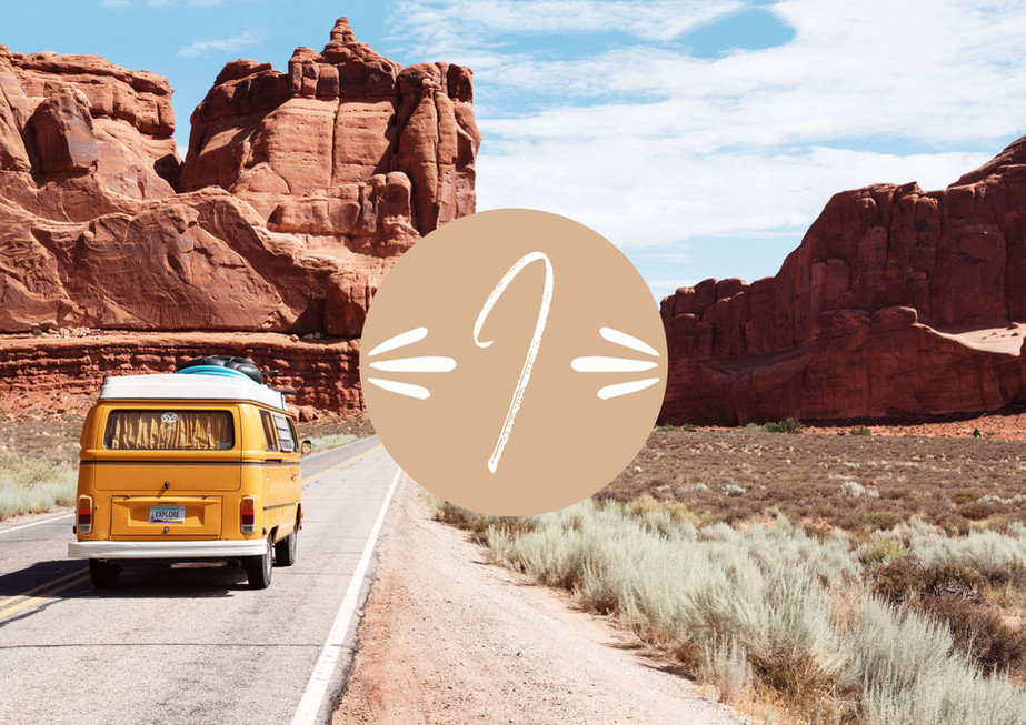 Indie Travel Design Submark by Heritage Creative Co.