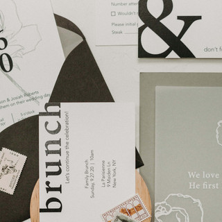 Black and White Suite by Heritage Creative Co.