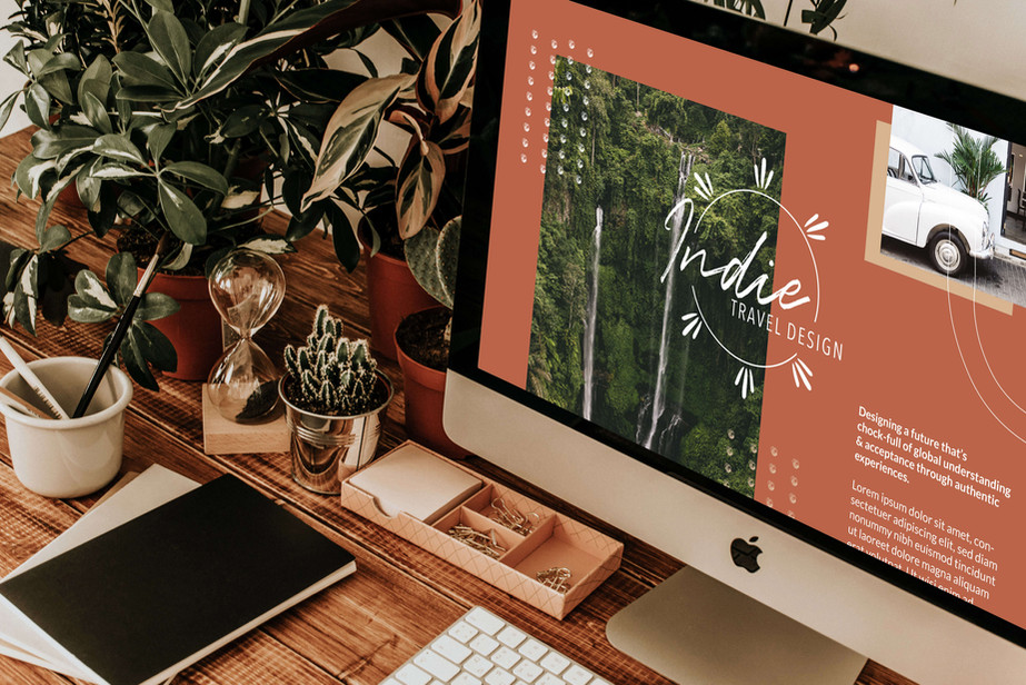 Website Mockup by Heritage Creative Co.