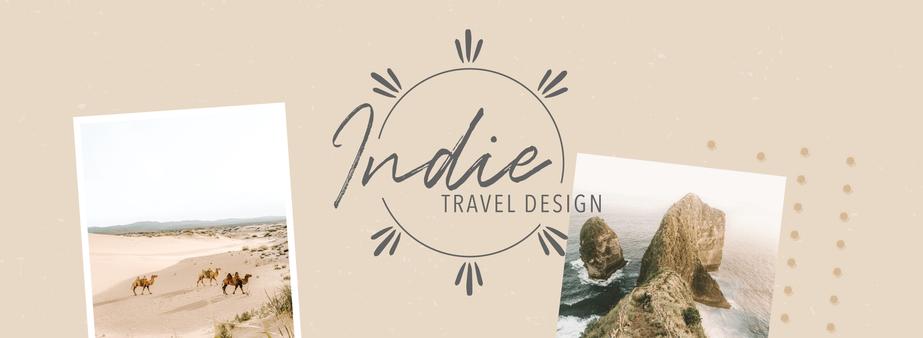 Indie Travel Design Branding by Heritage Creative Co.