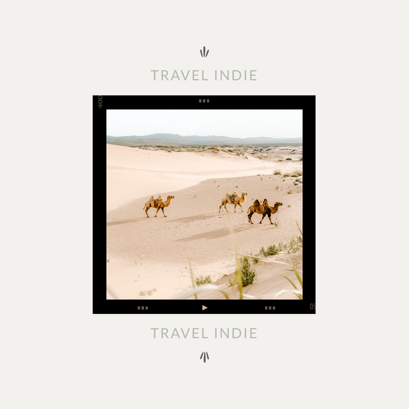 Travel Indie Tagline by Heritage Creative Co.
