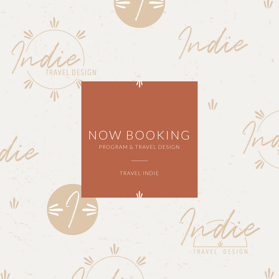 Now Booking Graphic by Heritage Creative C