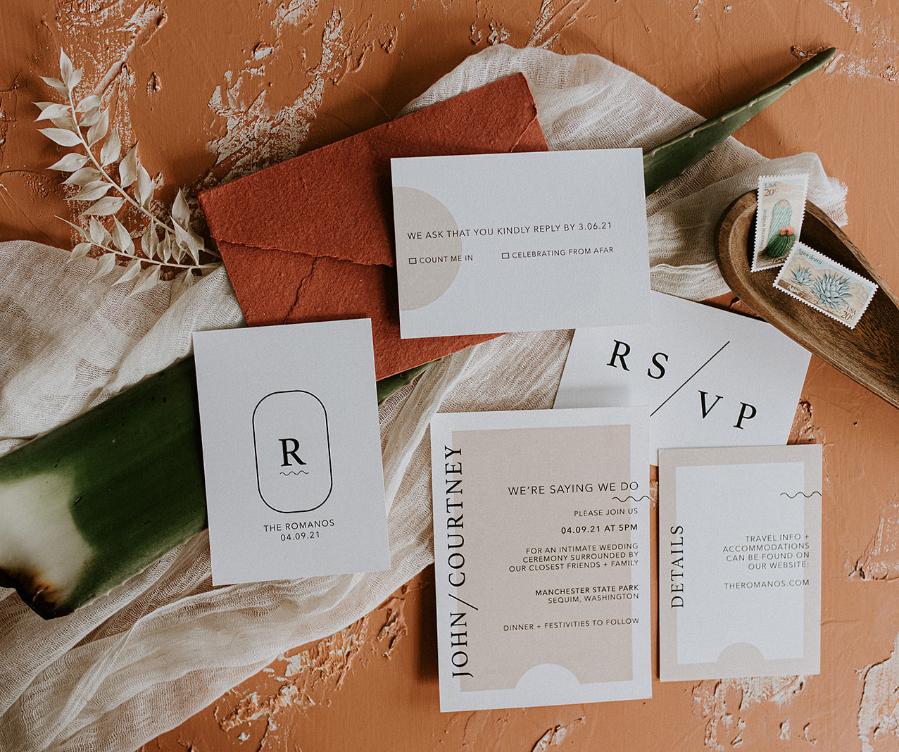 Boho + Modern Suite by Heritage Creative Co.
