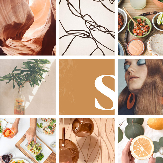 Retro Meets Modern MoodBoard by Heritage Creative Co.