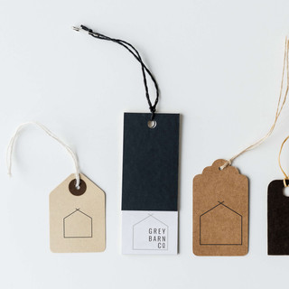 Clothing Boutique Tags Logo Branding by Heritage Creative Co.