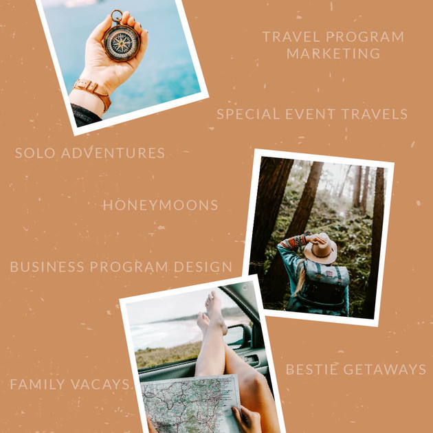 Travel Design Services by Heritage Creative Co.