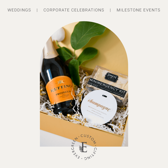 Evergreen Custom Gifting Branding by Heritage Creative Co.