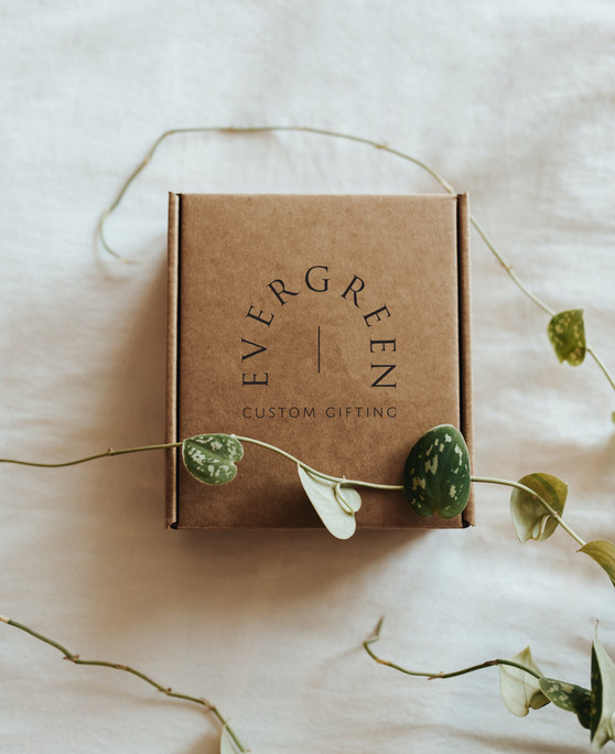 Custom Gifting Packaging Branding by Heritage Creative Co.