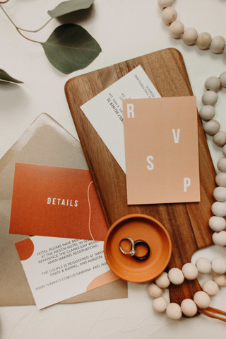 Modern Wedding Stationery by Heritage Creative Co.