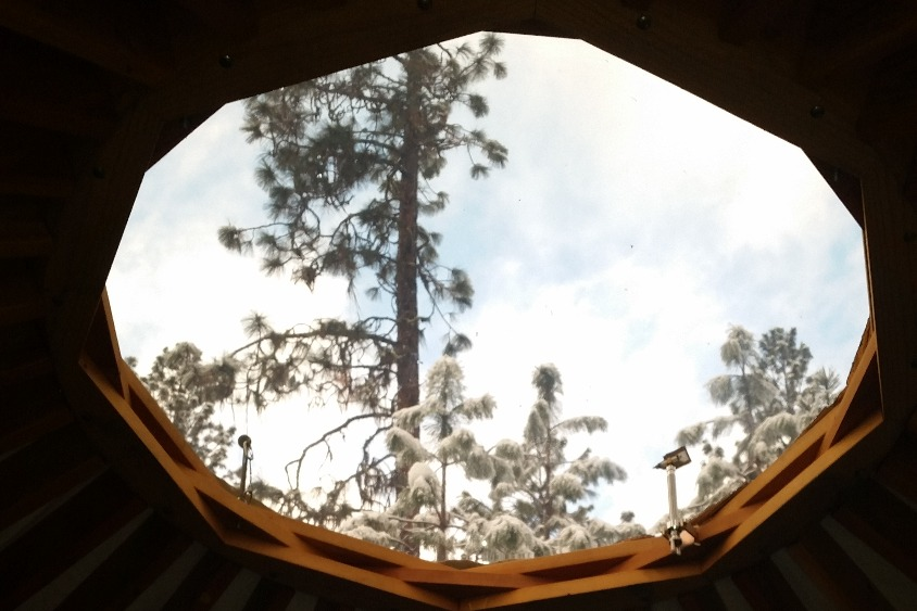 And a dome skylight
