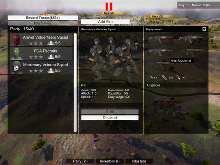 Squad UI extended