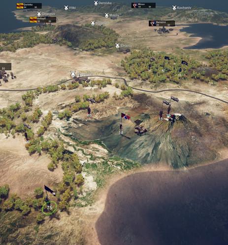 FPS meets Sandbox Strategy Game