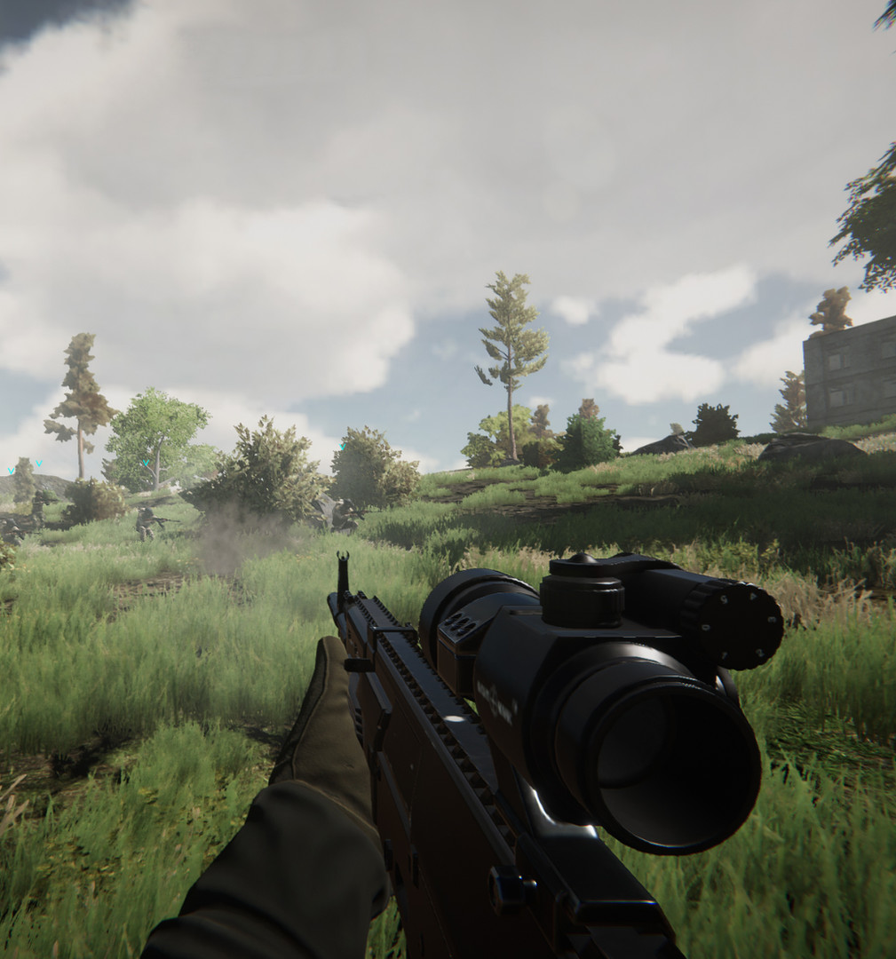 Realistic Combat Simulation