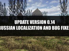 Update v0.14 | Bug Fixes and Russian Localization