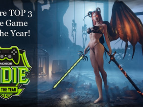 We Did It! We Are TOP 3 Indie Game Of The Year!
