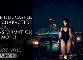 Update v0.12 Test Brunch | Expanded Castle, New Characters, Armor Transformation and more!