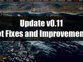 Update v0.11 Hot Fixes and Improvements