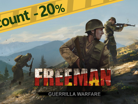 FREEMAN: GUERRILLA WARFARE IS 20% OFF!
