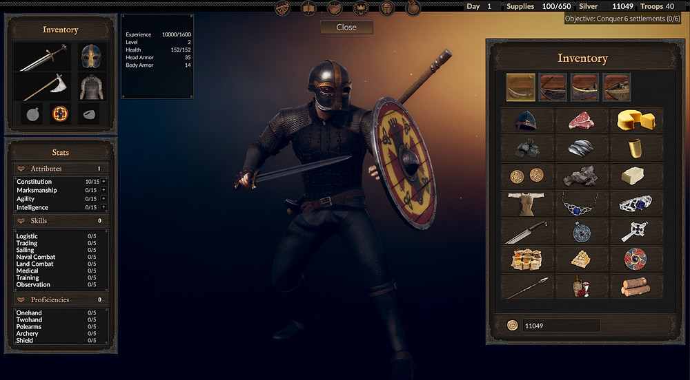 The Viking Way, Viking Way, Game About Viking, Viking Game, Viking Game 2020, Viking Games Steam, PC Viking Game, KK Softworks, Ice Lava Games, The Viking Way Inventory
