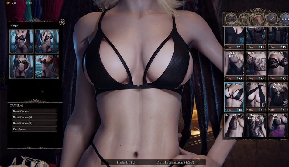 she will punish them body customization2