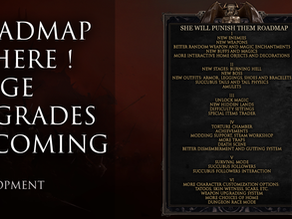 1 Hour before release! Here is the roadmap.